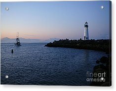 Santa Cruz Lighthouse Acrylic Print