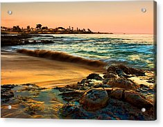 Santa Cruz Sunset Acrylic Print