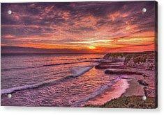 Santa Cruz Sunset Acrylic Print