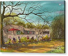 Santa Fe Casa Acrylic Print by Tim Oliver