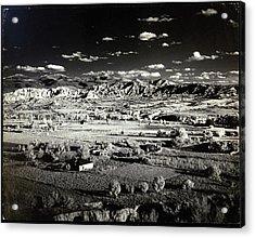 Santa Fe In New Mexico Acrylic Print