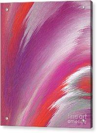 Santa Fe Inspired Acrylic Print by Patricia Kay
