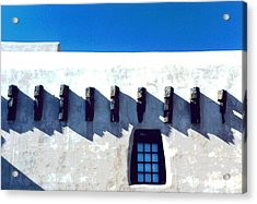 Acrylic Print featuring the photograph Santa Fe by Mary Bedy