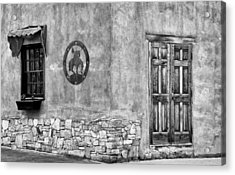 Acrylic Print featuring the photograph Santa Fe New Mexico Street Corner by Ron White