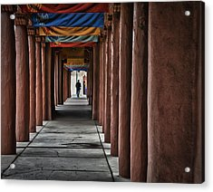 Santa Fe Nm 4 Acrylic Print by Ron White