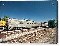 Santa Fe Railyard Acrylic Print by Jim Pruitt
