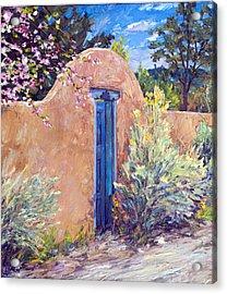 Santa Fe Splendor Acrylic Print by Steven Boone