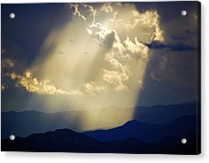 Santa Fe Sunset Acrylic Print