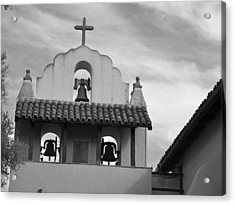 Santa Ines Mission Bell Tower Acrylic Print