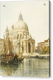 Santa Maria Della Salute Acrylic Print by Jacques Guiaud