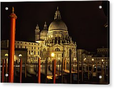 Acrylic Print featuring the photograph Santa Maria Della Salute by Marion Galt