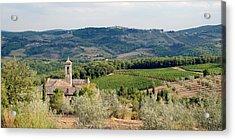 Santa Maria Novella Priory Tuscany Acrylic Print by Mathew Lodge