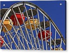 Santa Monica Pier Ferris Wheel Acrylic Print