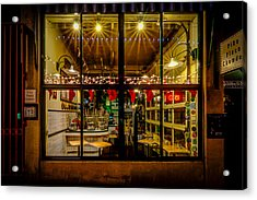 Santa-ready Pike Place Chowder After Closing Acrylic Print by Brian Xavier