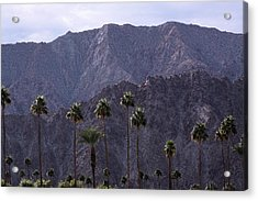 Santa Rosa Mountains Acrylic Print