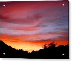 Santa Susana Sundown Acrylic Print