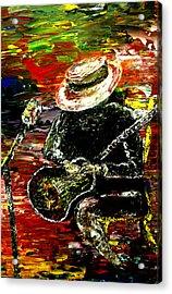 Santana Acrylic Print by Mark Moore