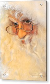 Santa's Beard Acrylic Print