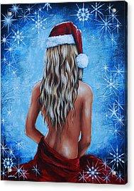Santa's Helper Acrylic Print