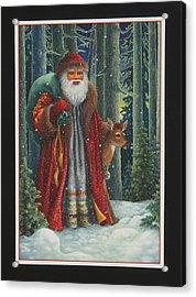 Santa's Journey Acrylic Print