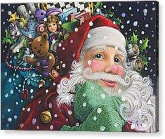 Santa's Toys Acrylic Print