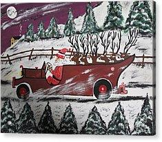 Santa's Truckload Acrylic Print by Jeffrey Koss