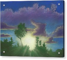Santee Sunset 02 Acrylic Print