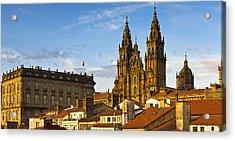Santiago De Compostela Cathedral Galicia Spain Acrylic Print