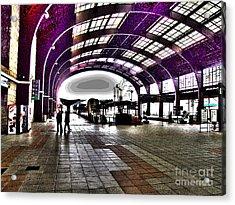 Santiago De Compostela Station Acrylic Print