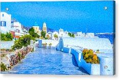 Santorini Grk4120 Acrylic Print
