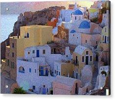 Santorini Grk6424 Acrylic Print