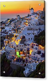 Santorini Acrylic Print