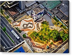 Sao Paulo Downtown - Geometry Of Public Spaces Acrylic Print