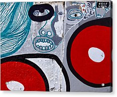 Sao Paulo Graffiti I Acrylic Print by Julie Niemela