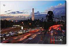 Sao Paulo Skyline - Ibirapuera Acrylic Print