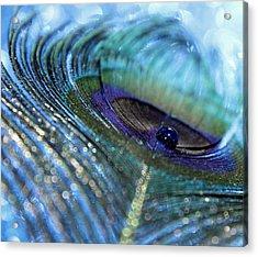 Saphire Blues Acrylic Print