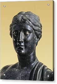 Sappho 612-545 Bc. Greek Art. Sculpture Acrylic Print