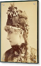 Sarah Bernhardt (1845 - 1923), French Acrylic Print by Mary Evans Picture Library