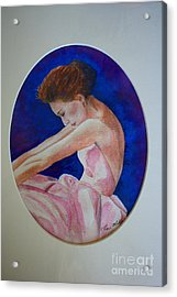Sarah Jessica Parker Acrylic Print by Terri Maddin-Miller