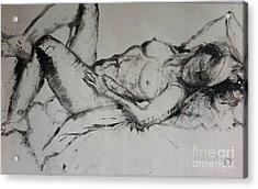 Sarah Sleeping Acrylic Print