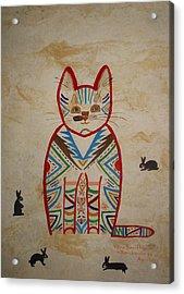 Sarah's Cat Acrylic Print
