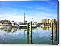 Sarasota Marina Acrylic Print