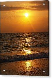 Sarasota Sunset Florida Acrylic Print by Athala Carole Bruckner