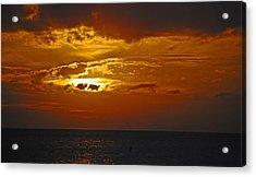 Sarasota Sunset Sun 98 Acrylic Print by G L Sarti