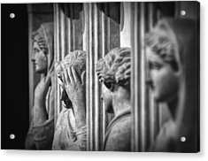 Sarcophagus Of The Crying Women II Acrylic Print by Taylan Apukovska
