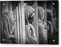 Sarcophagus Of The Crying Women Acrylic Print by Taylan Apukovska
