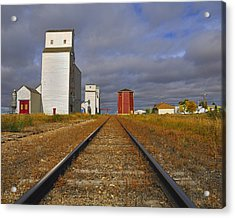 Saskatchewan Prairies Acrylic Print
