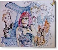 Sassy Pat Murray Acrylic Print by Barb Greene mann