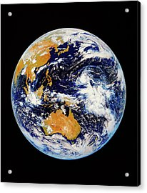 Satellite Image Of Australasia Acrylic Print by Kevin A Horgan/science Photo Library