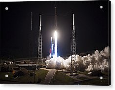 Satellite Launch Acrylic Print by Movie Poster Prints